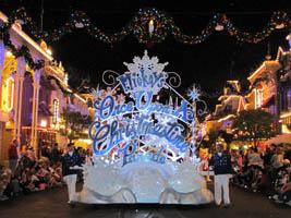 snowflake parade floats.