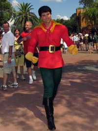 Video 1 Gaston Greets Guests At Epcot Training For Fantasyland Gastons Tavern Beauty And The Beast Surprised Delighted Today
