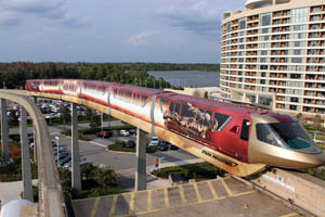Marvel Iron Man 3 Monorail at Walt Disney World Photo 001