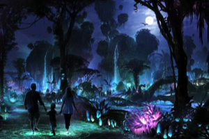 Avatar Concept Art NEW 003 Night Pandora