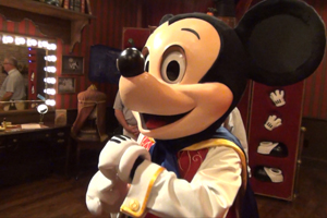 Talking Mickey Debuts at The Magic Kingdom photo 006