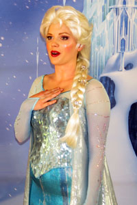 Anna and Elsa from Disney's FROZEN - First Public Meet & Greet Appearance photo 004