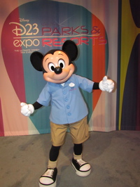 D23 expo 2011 recap part 1 carousel of projects new fantasyland video 3 interactive talking mickey mouse meet greet d23 expo 2011 disney talking mickey mouse meets with steven clark and denise and jeff from m4hsunfo