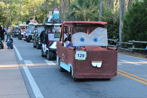 continue reading halloween at disneys fort wilderness campground golf cart