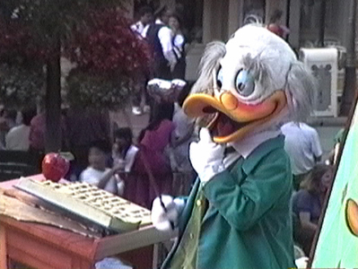 Ludwig Von Drake The World According to Goofy Parade