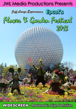 Epcot's Flower & Garden 2013 cover