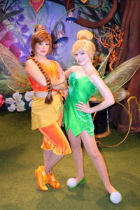 Disney fairies week limited time magic at the magic kingdom mad meeting the fairies below left and always enjoy seeing characters that arent around too often we each received a limited time magic card below m4hsunfo