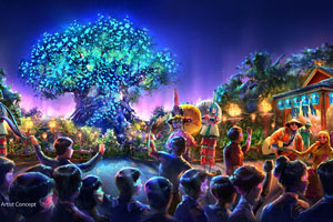 Disney's Animal Kingdom Theme Park Expands - Nighttime Show