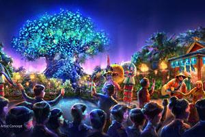 Disney's Animal Kingdom Theme Park Expands - Nighttime Show
