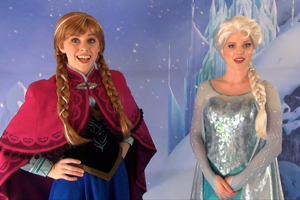 Anna and Elsa from Disney's FROZEN - First Public Meet & Greet Appearance photo 001