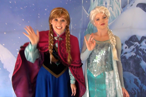 Anna and Elsa from Disney's FROZEN - First Public Meet & Greet Appearance photo 006