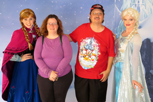 Anna and Elsa from Disney's FROZEN - First Public Meet & Greet Appearance photo 005